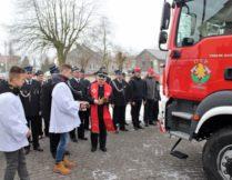 Więcej o Uroczystość poświęcenia samochodu pożarniczego